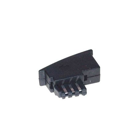 TPFNet Premium Adapter TAE F Stecker auf RJ11 Buchse (6P4C), (TAE F Stecker auf RJ11 Buchse (6P4C)), Zum Anschluss von Geräten mit RJ11 Stecker an TAE Anschlussdosen