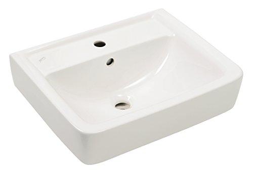 Keramag 222255000 Renova Plan Handwaschbecken Waschtisch Waschplatz Neu, 55 cm, 55