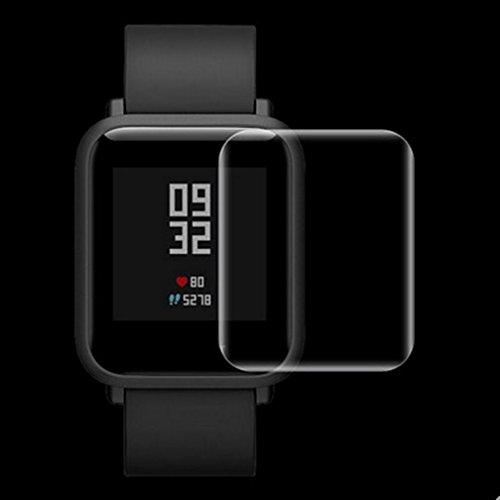 squarex 2kratzfest Wasserdicht HD dünn Displayschutzfolie für Xiaomi amazfit Sport -, damen, a, AS Show