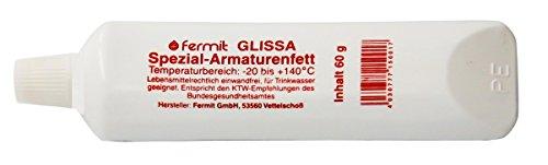 Fermit (GLISSA Spezial-Armaturenfett) nach NSF-H 1 freigegeben und nach DIN 51502 des...