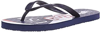 Polo Ralph Lauren  Country Thong, Tongs pour garçon - Bleu - Blau (Navy Rubber/Navy sole w USA), Taille 40 EU