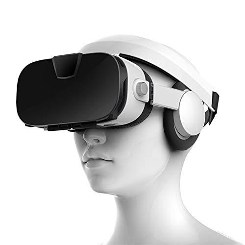 """Stereo Video 3D Brille VR Headset Virtuelle Realität Smartphone Google Karton Helm Vr Für 4 Zoll Bis 6,4\"""" Handys Unterstützt 0-800 ° Myopie Bei Betrachtung Mit Bloßem Auge"""