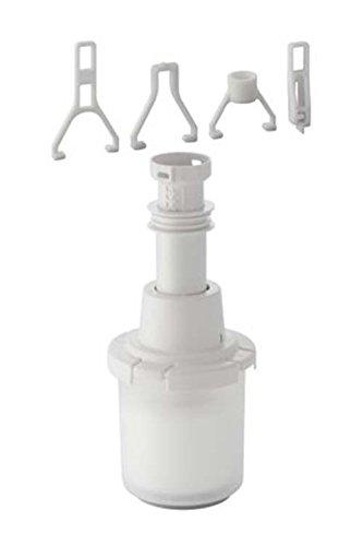 Geberit 240113001 Cloche de chasse d'eau universelle avec tube télescopique