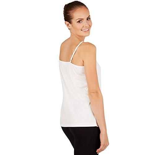 Top con Spalline Sottili Donna - disponibile in diversi colori e misure - XL | Bianco | No. 301248
