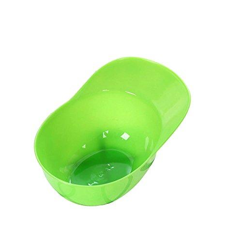 Hacoly Kinder Schüssel Baseballmütze form Eiscreme Dessertschale Müslischalen lebensmittel Kunststoff Schalen Salatschale Küchenutensilien Tools für verschiedenste Einsatzzwecke - Grün