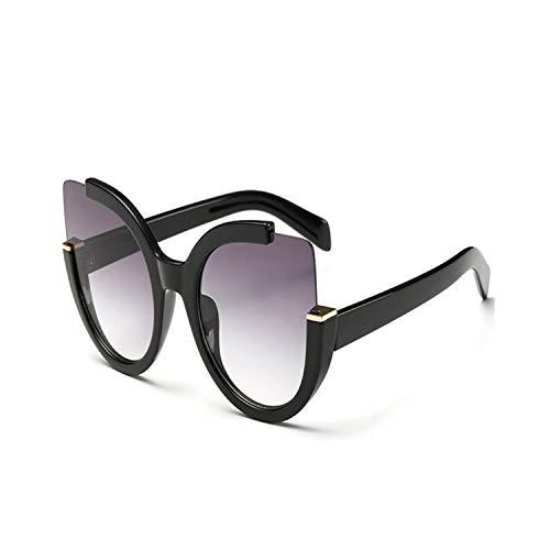 Sportbrillen, Angeln Golfbrille,Cat Eye Sunglasses Women Brand Designer Vintage Sunglass Fashion Driving Sun Glasses For Women Cateye Glasses UV400 Black