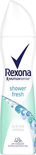 Rexona Deospray Shower Fresh Anti-Transpirant, 150 ml, 6er Pack (6 x 150 ml)
