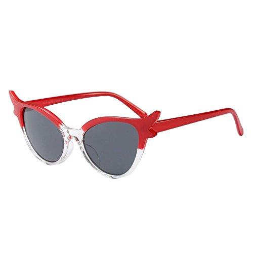 WUDUBE Neue Sonnenbrillen, Unisex Persönlichkeiten, Cat-Fashion-Brillen