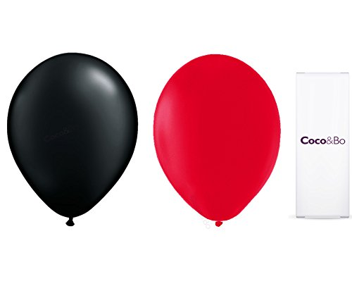 20-x-CocoBo-Fabulous-Las-Vegas-Red-Black-Latex-Balloons-Cocktail-Party-Accessories-Casino-Poker-Night-Card-Party-James-Bond-Theme