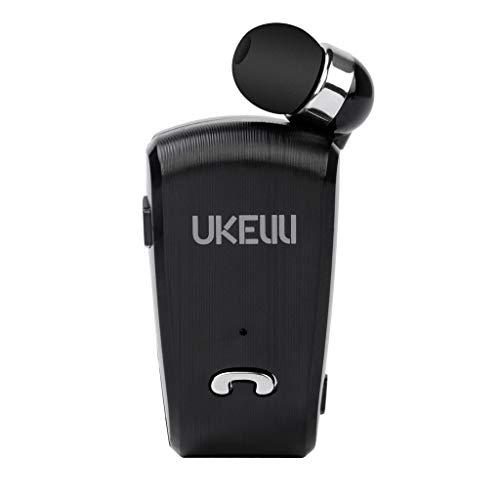 SYY Bluetooth Kopfhörer 4.0 Tragbares In Ear Kopfhörer, UK-890Telescopic Bluetooth-Headset, Wasserdicht Headset Stereo Magnet Sport Ohrhörer (Schwarz) - Samsung 26 Tv
