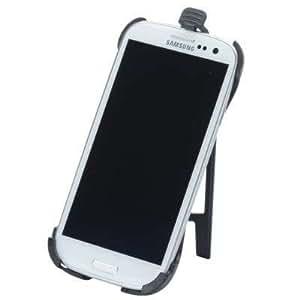 HR 24966/0 Modellspezifische Halterungsschale für Samsung i9500 Galaxy S4 für KFZ + Büro