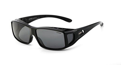 Joysun polarisierte LensCovers Sonnenbrille Unisex tragen über Korrekturbrille 9001