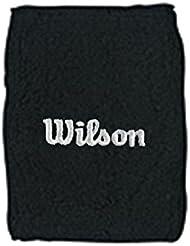 Wilson WR5600370 - Muñequera unisex, color negro, talla NS