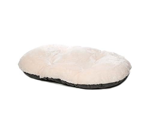 Gor Pets Nordic Coussin ovale pour panier pour chien, 53cm, gris