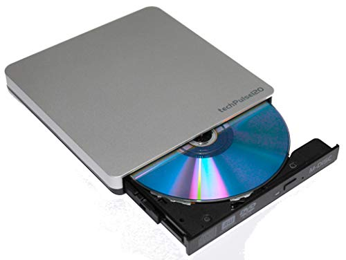 Typ C Externer DVD M-Disc Brenner CD Burner Superdrive Portable Rom Laufwerk DVDRW Slim für Computer PC Notebook Ultrabook Netbook Laptop Windows MacOS Apple iMAC MacBook Pro Air ()