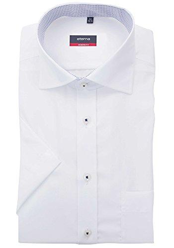 "Herren Hemd ""Modern Fit"" Kurzarm Weiß"