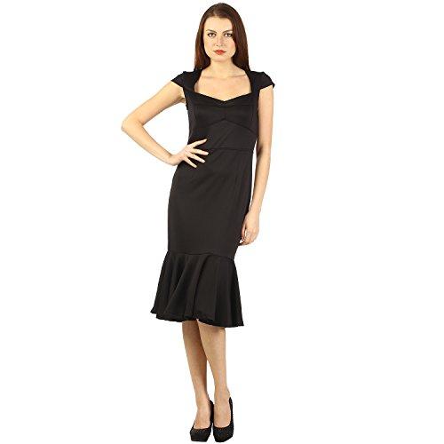 DressKart Stretch Fit PartyWear Midi Dress