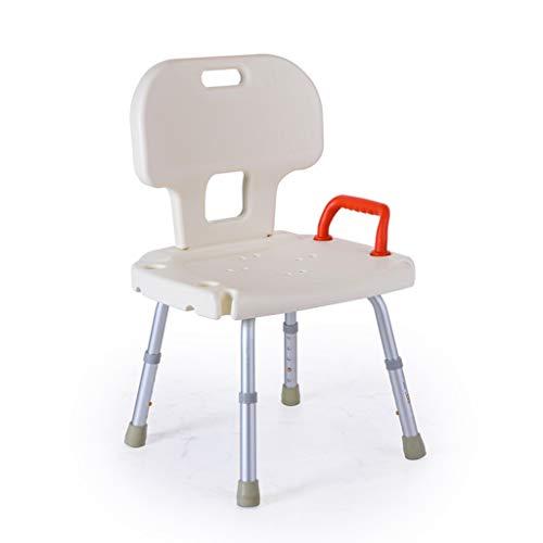 Baden Stuhl Aluminiumlegierung Alter Mann mit Dusche Mund Dusche Hocker Bad Stuhl Badewanne Baden Stuhl