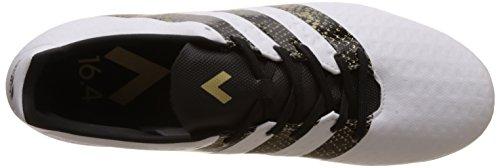 adidas Ace 16.4 FxG, Entraînement de Football Homme Blanc (Ftwr White/core Black/gold Metallic)