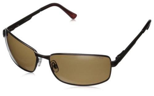 Polaroid Herren P4416 PK 09Q Sonnenbrille, Braun Dark Brown Pz, 63