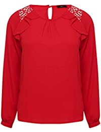 c29fdd07 Amazon.co.uk: M&Co - Blouses & Shirts / Tops, T-Shirts & Blouses ...