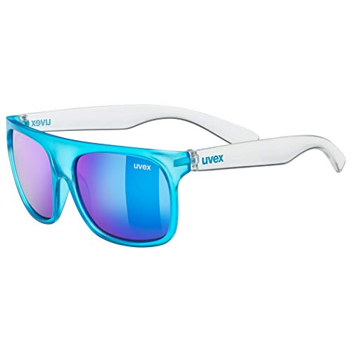 uvex Unisex Jugend, sportstyle 511 Sonnenbrille, blue transparent, one size
