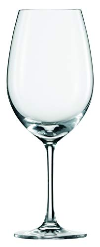 Ivento Red Wine Glasses 16.9oz / 480ml - Pack of 6 | Crystal Wine Glasses, Wine Tasting Glasses, Sch