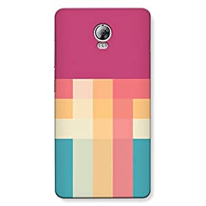 DASM United Lenovo P2 Premium Back Case Cover - Color Pallate