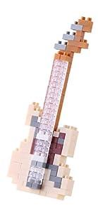 Kawada de tamaño Micro Bloque de construcción nanoblock - Guitarra eléctrica de Marfil