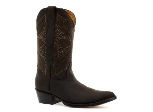 Grinders Dallas Femme Cowboy Bottes, Marron