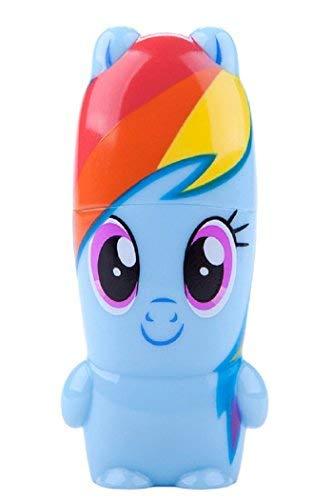 My Little Pony MIMOBOT Charakter USB Flash Drive mit Bonus vorinstallierten mimory Inhalt, Limited Edition by Mimoco 8GB, 16GB, 32GB 3.0, 64GB 3.0 Rainbow Dash 64GB 3.0 - 8 Gb Dash