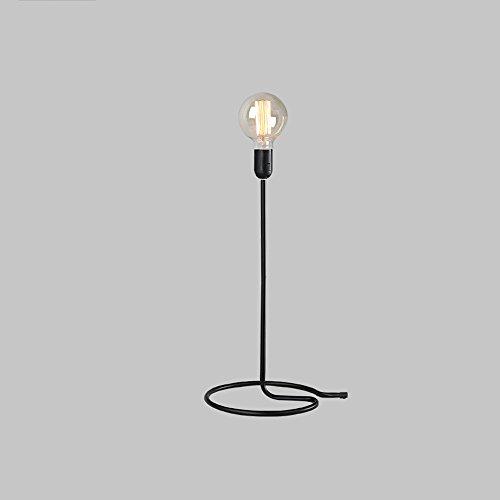 LZDHY Modern Minimalista De Alta Calidad De Hierro Lámpara De Escritorio E27 Socket Dormitorio Individual Sala De Estudio De Lectura Aprendizaje Iluminación Luces De Escritorio Regalo De Navidad