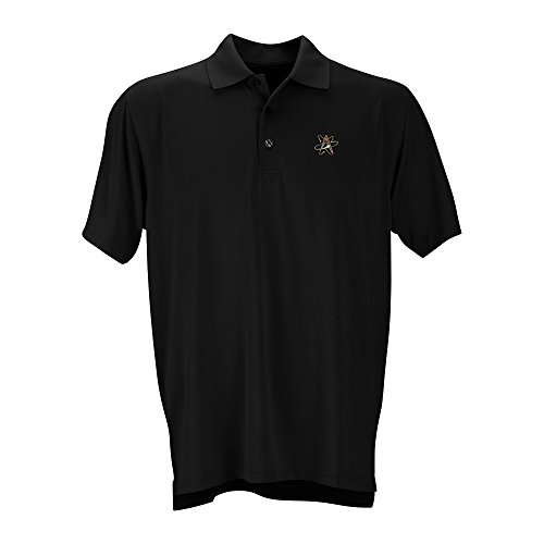 Vantage Apparel Minor League Baseball Albuquerque Isotopes Men's Performance Mesh Polo Shirt, 4X-Large, Black