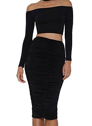 Bling-Bling - T-Shirt - Femme - noir - M