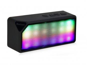 Image of DESIGN FREUNDE Bluetooth Lautsprecher Black Perl Kopfhörer Speaker Handylautsprecher Box Disco Lautsprecher Bluetooth Lautsprecher Bluetooth Lautsprecher Bluetooth Lautsprecher Twister Black
