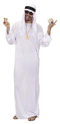 Disfraz de jeque para hombre (talla XL)