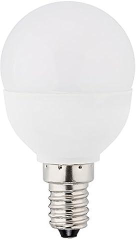 MÜLLER-LICHT 400032 A+, LED Lampe Mini-Globe ersetzt, 25 W, Plastik,