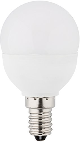 Lampe 14 (MÜLLER-LICHT 400028 A+, LED Lampe Tropfenform ersetzt 40 W, Plastik, 5.5 watts, E14, weiß, 8 x 4.5 x 4.5 cm dimmbar)