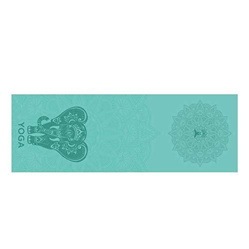 Yogadecke Schnelltrocknende Tragbare Faltbare Yogamatte Handtuch Tuch Fitnessdecke Weiche, Perfekte, Doppelseitige, Rutschfeste, Schweißabsorbierende, Rutschfeste Übungs-Pilates-Decke Aus Mikrofaser