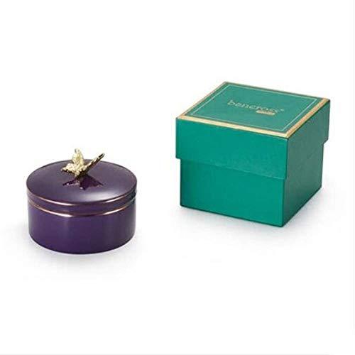 Eeayyygch Aufbewahrungsbox Bee Schmuckschatulle Halskette Ring Vorratsbehälter Armband Box Ohr Nagel Box Freundin Geschenk (Farbe : -, Größe : -)