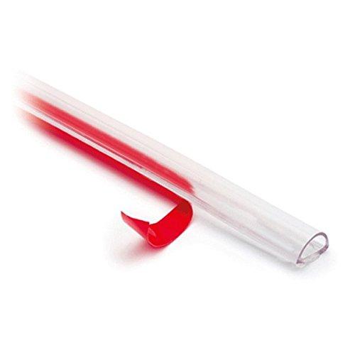 Streifendichtung für Glastür, selbstklebend,für Glasstärke 8-10 mm, L 5000 mm