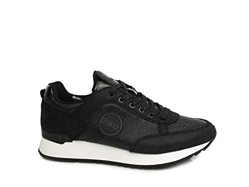 Colmar Travis Punk Nero Scarpe Donna Sneakers Lacc...
