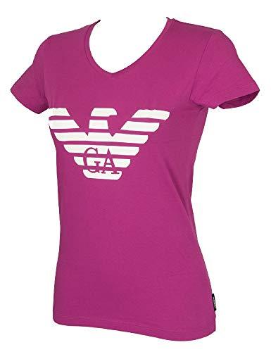 Emporio Armani T-Shirt Kurzarm Damen Shirts V Sweater Artikel 163321 9P317