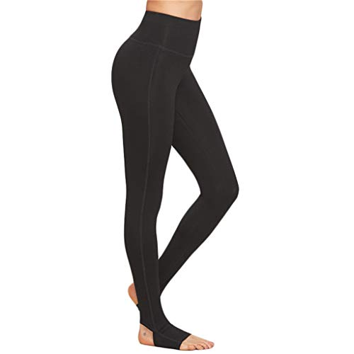 SOMEUSN Frauen Fuß Yoga Hosen Workout Gym Running 4-Wege-Stretch Yoga Leggings -