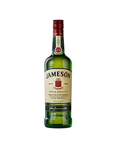 Jameson Original Irish Whiskey - Blended Irish Whiskey mit Jameson Single Irish Pot Still Whiskeys und Grain Whiskeys - 1 x 0,7 L