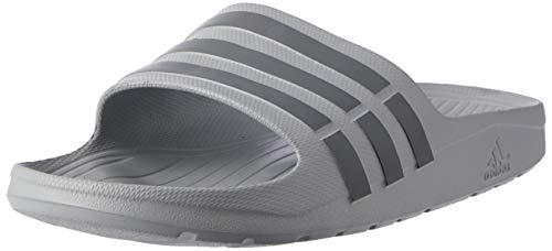 Adidas Duramo Slide, Chanclas Unisex Adulto, Gris