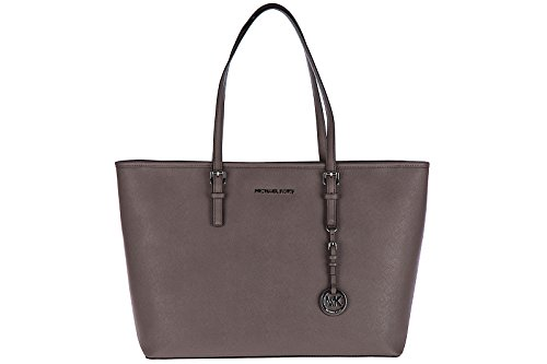 Michael Michael Kors Jet Set Medium Tote (Michael Kors Schultertasche Leder Damen Tasche Umhängetasche Bag jet set travel)