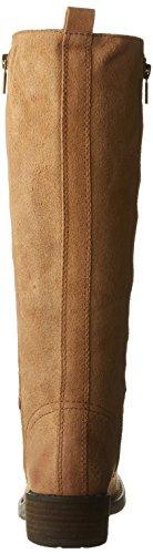 Lucky Brand Desdie Rund Leder Mode-Knie hoch Stiefel Aztec