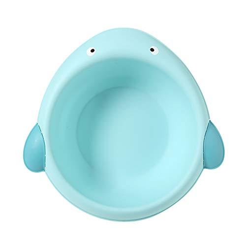 Homyl Baby Waschschale, Waschschüssel, Waschwanne, Seifenablage - Wal blau