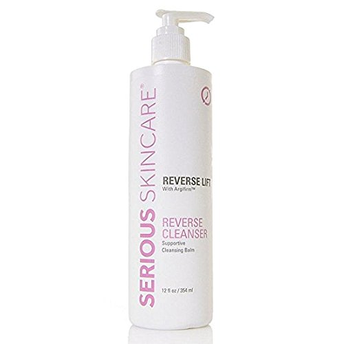 12 oz with Pump Serious Skin Care Reverse Lift Reverse Cleanser with Argifirm